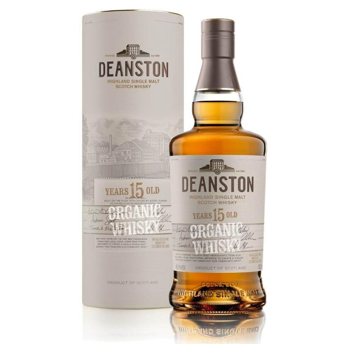Deanston 15 Year Old Organic Scotch Deanston Whisky