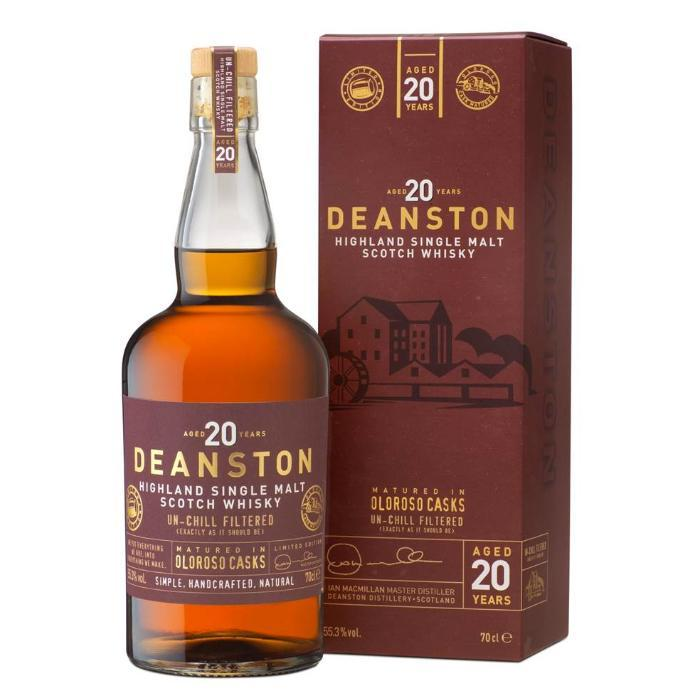 Deanston 20 Year Old Oloroso Scotch Deanston Whisky