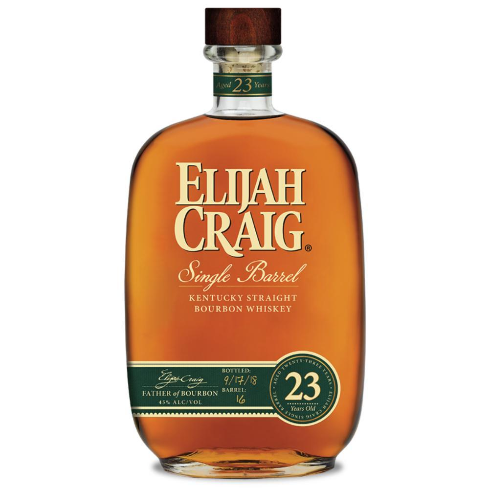 Elijah Craig 23 Year Old Single Barrel Bourbon Elijah Craig