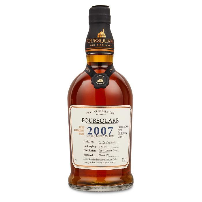Foursquare 2007 Cask Strength Rum Rum Foursquare Rum Distillery