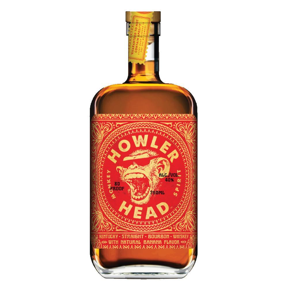 Howler Head Banana Infused Kentucky Straight Bourbon Whiskey Bourbon Howler Head