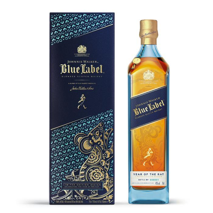 Johnnie Walker Blue Label Year Of The Rat Scotch Johnnie Walker