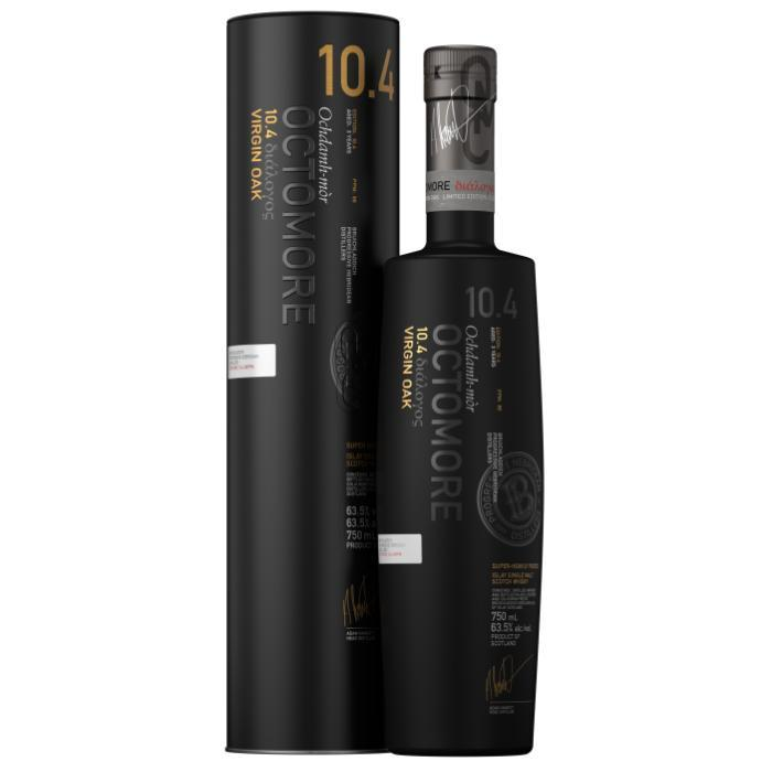 Octomore 10.4 Virgin Oak Scotch Octomore