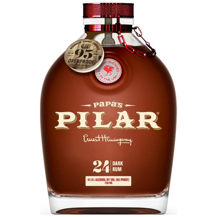 Papa's Pilar Bourbon Barrel Finished Rum Rum Papa's Pilar Rum