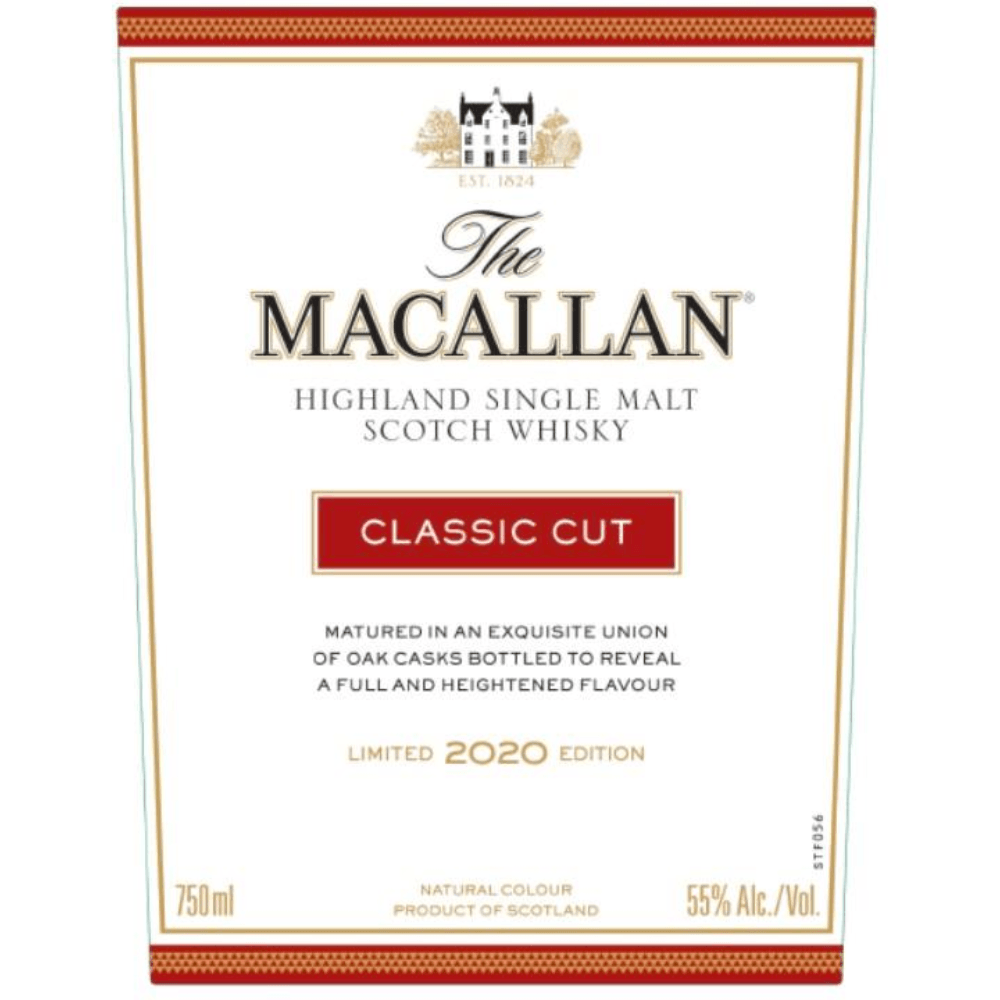 The Macallan Classic Cut 2020 Edition Scotch The Macallan
