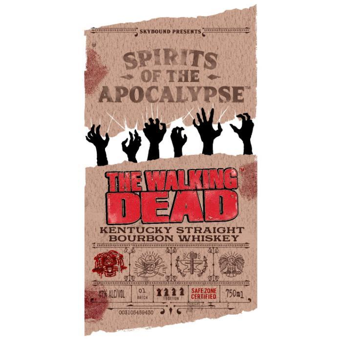 The Walking Dead Kentucky Bourbon Whiskey Bourbon Spirits of the Apocalypse
