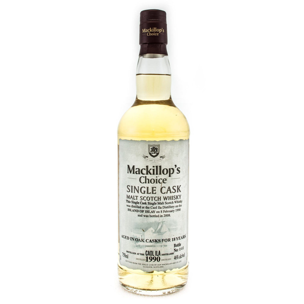 Mackillop's Choice Single Cask 18 Year Old Scotch Mackillop's Choice