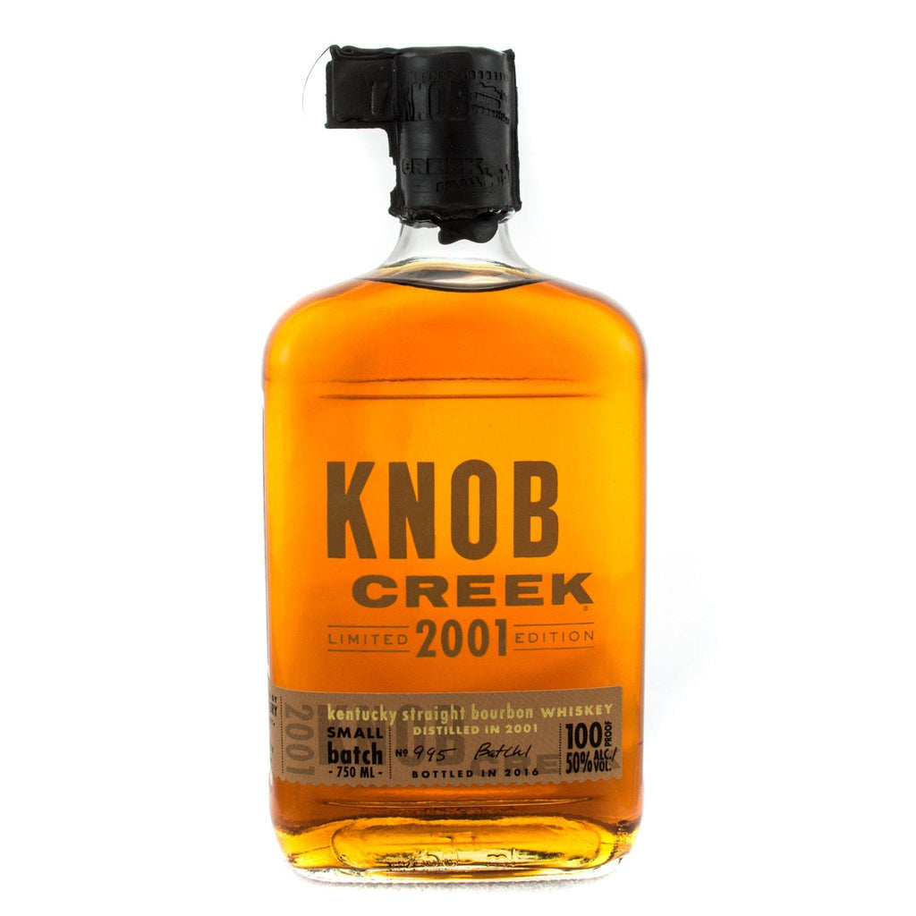 Knob Creek Limited 2001 Edition Bourbon Knob Creek