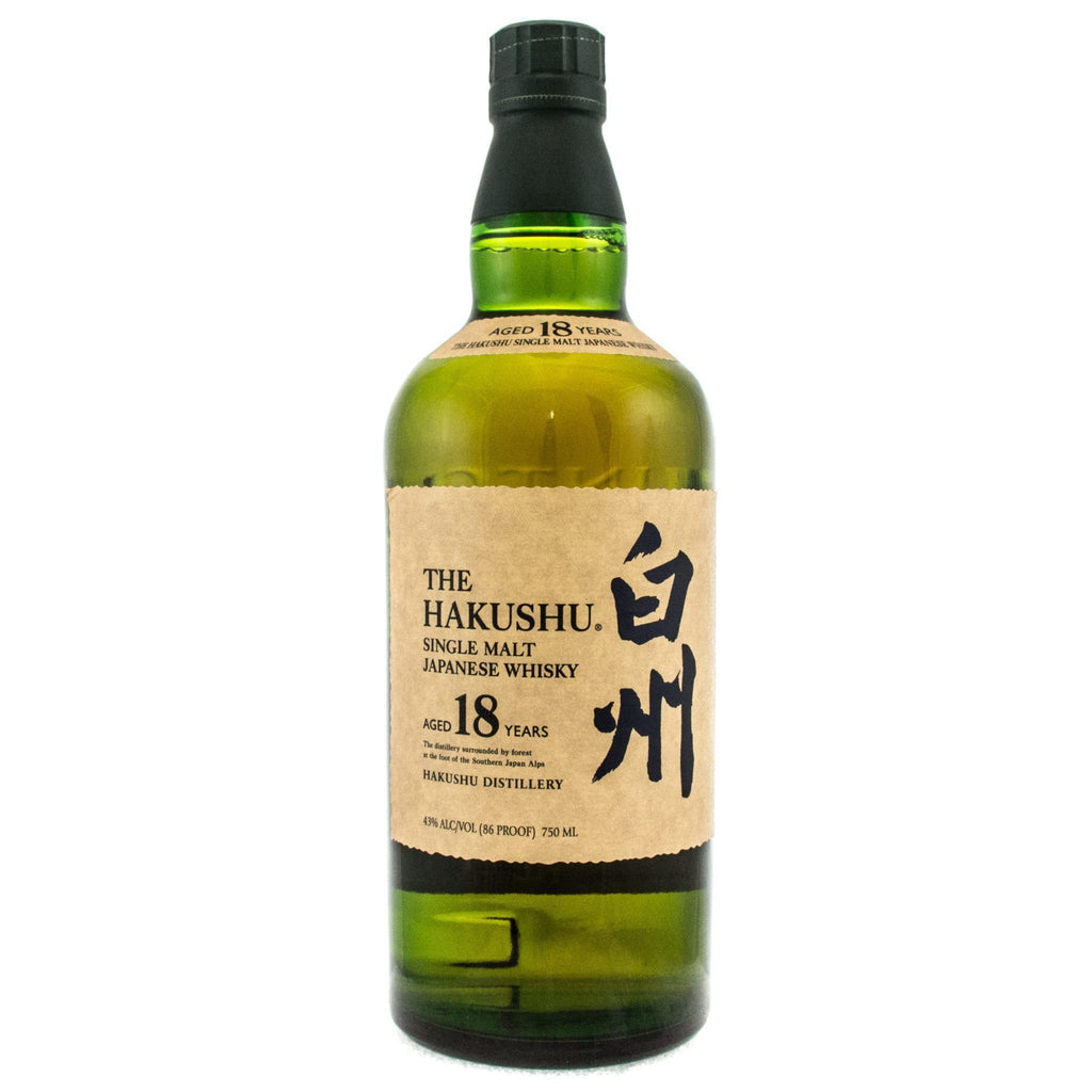 Hakushu 18 Years Old Japanese Whisky Hakushu