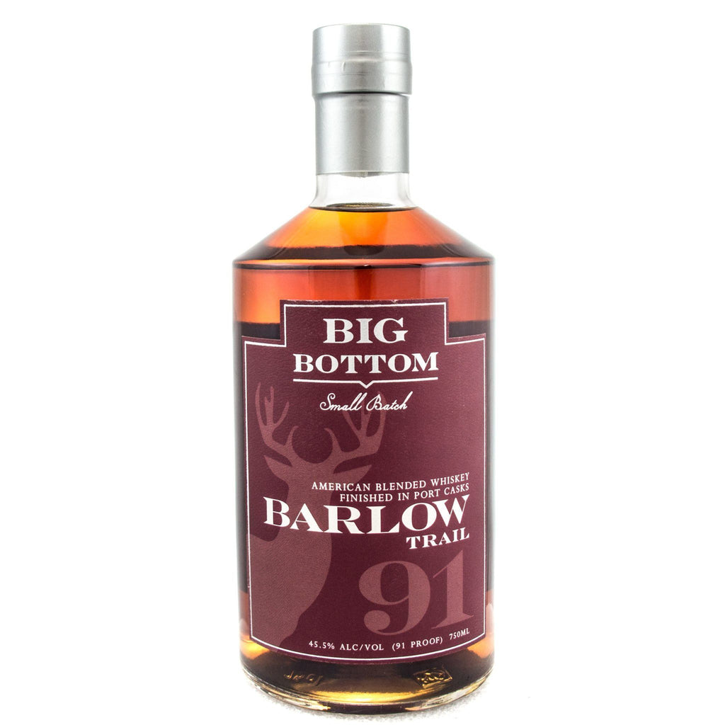 Big Bottom Barlow Trail Port Cask Finish American Whiskey Big Bottom Distilling