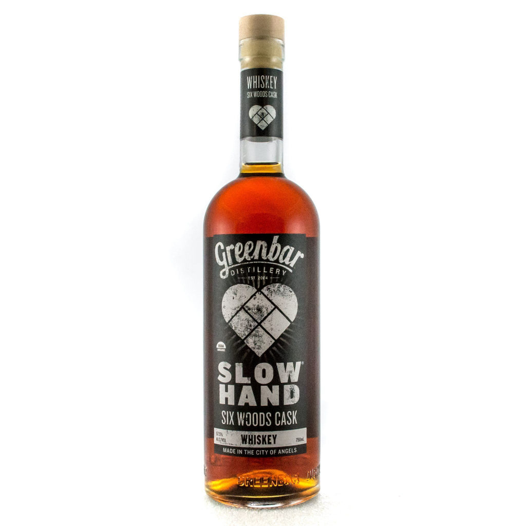 Slow Hand Six Woods Cask Organic Whiskey American Whiskey Greenbar Distillery