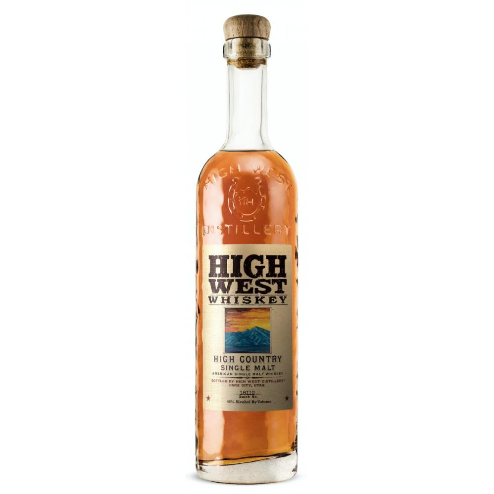 High West High Country American Single Malt American Whiskey High West Distillery