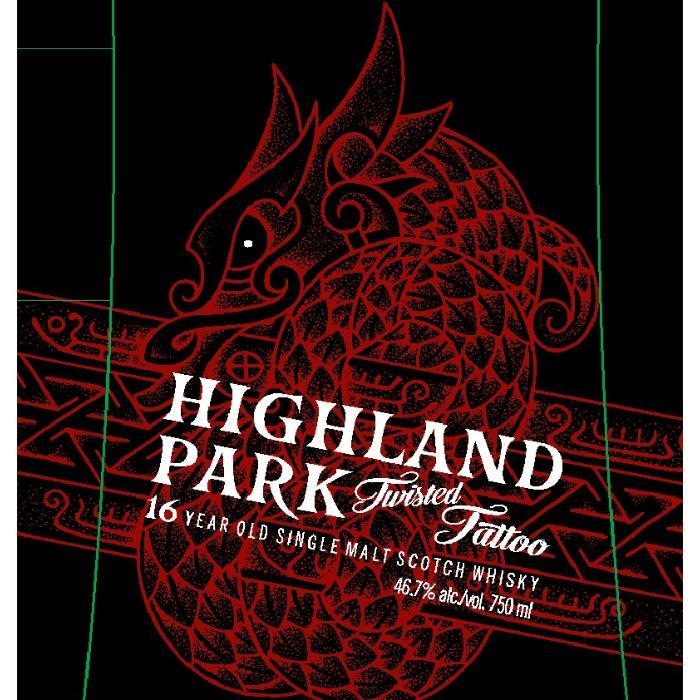 Highland Park Twisted Tattoo Scotch Highland Park