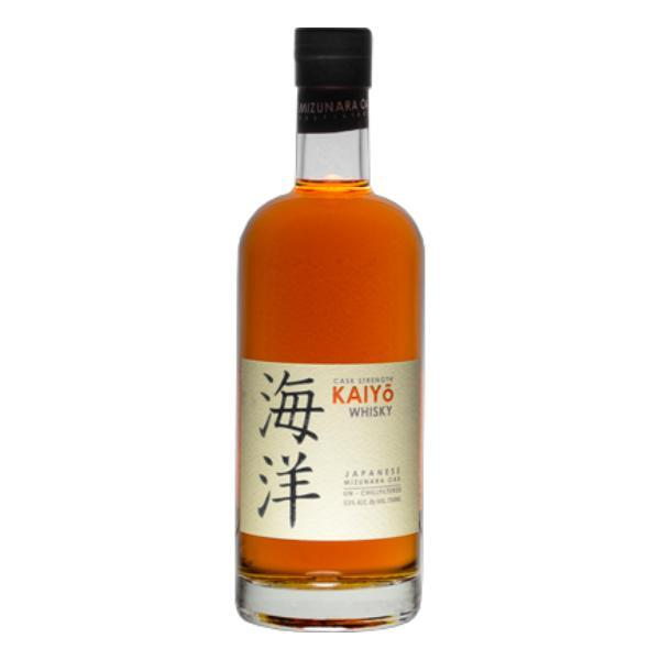 Kaiyō Cask Strength Japanese Mizunara Oak Whisky Japanese Whisky Kaiyō