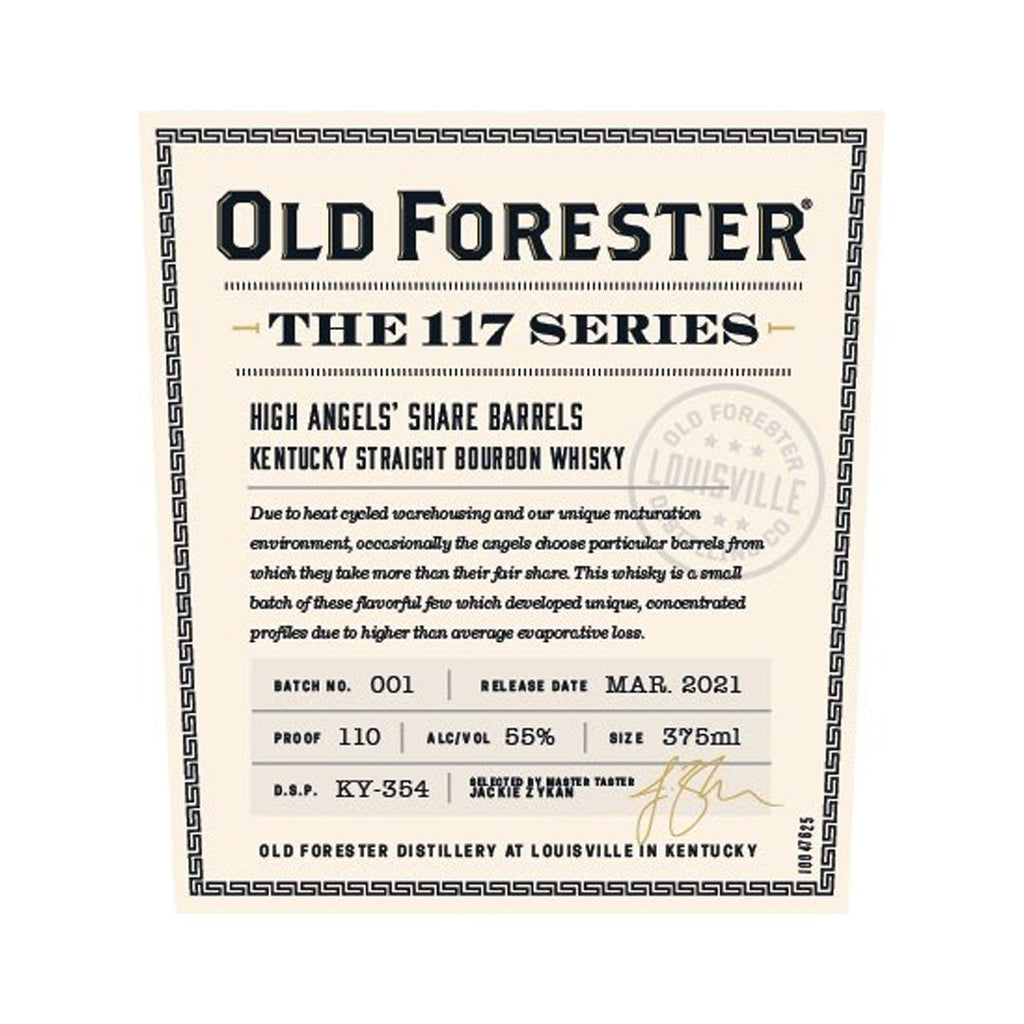 Old Forester The 117 Series
