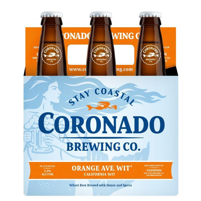 Orange Ave. Wit Beer Coronado Brewing