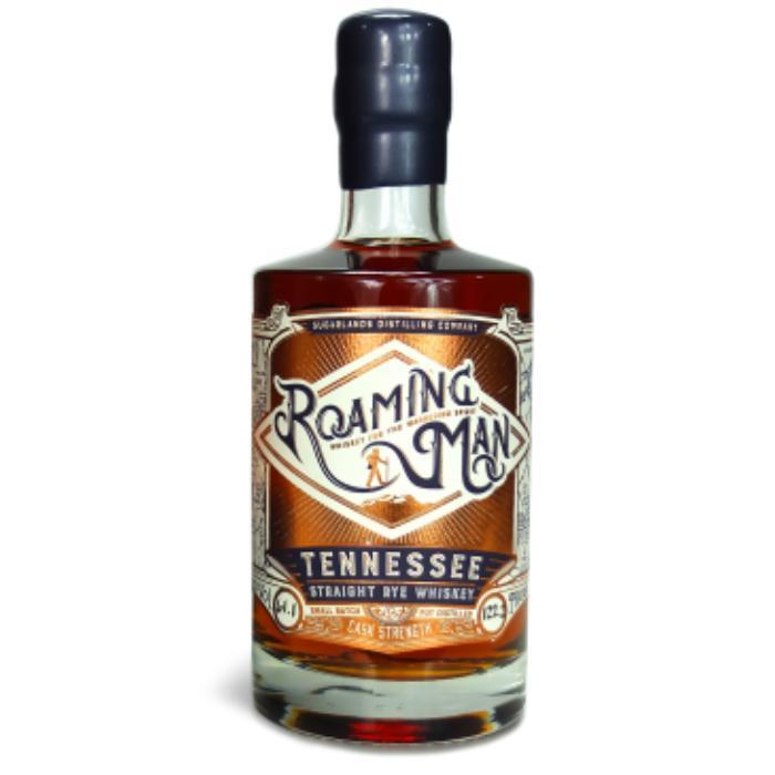 Roaming Man Tennessee Straight Rye Whiskey American Whiskey Sugarlands Distilling Company