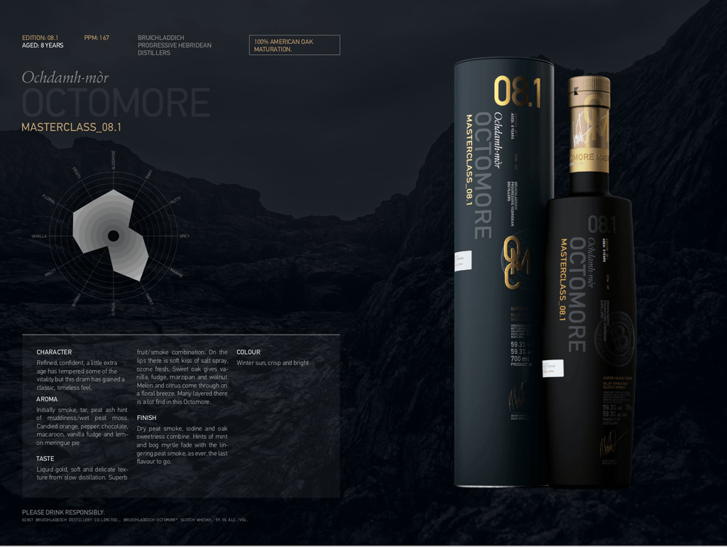 Octomore 8.1 Scotch Octomore