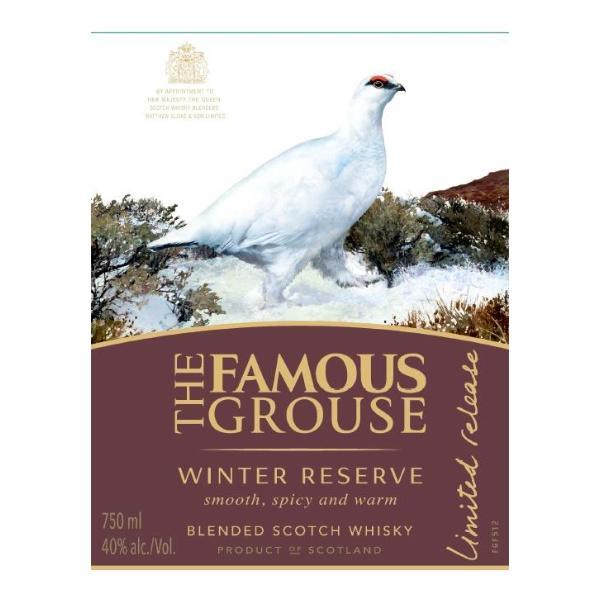 The Famous Grouse Winter Reserve Scotch The Famous Grouse
