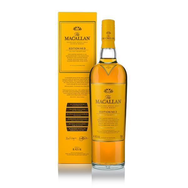 The Macallan Edition No. 3 Scotch The Macallan