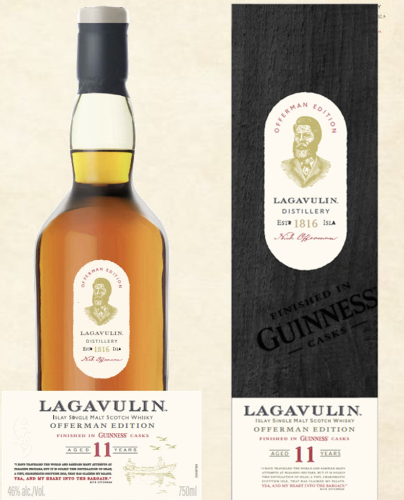 Lagavulin Offerman Edition: Finished in Guinness Casks Sip Whiskey