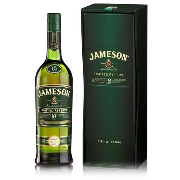 Jameson 18 Year Old Limited Reserve Irish whiskey Jameson