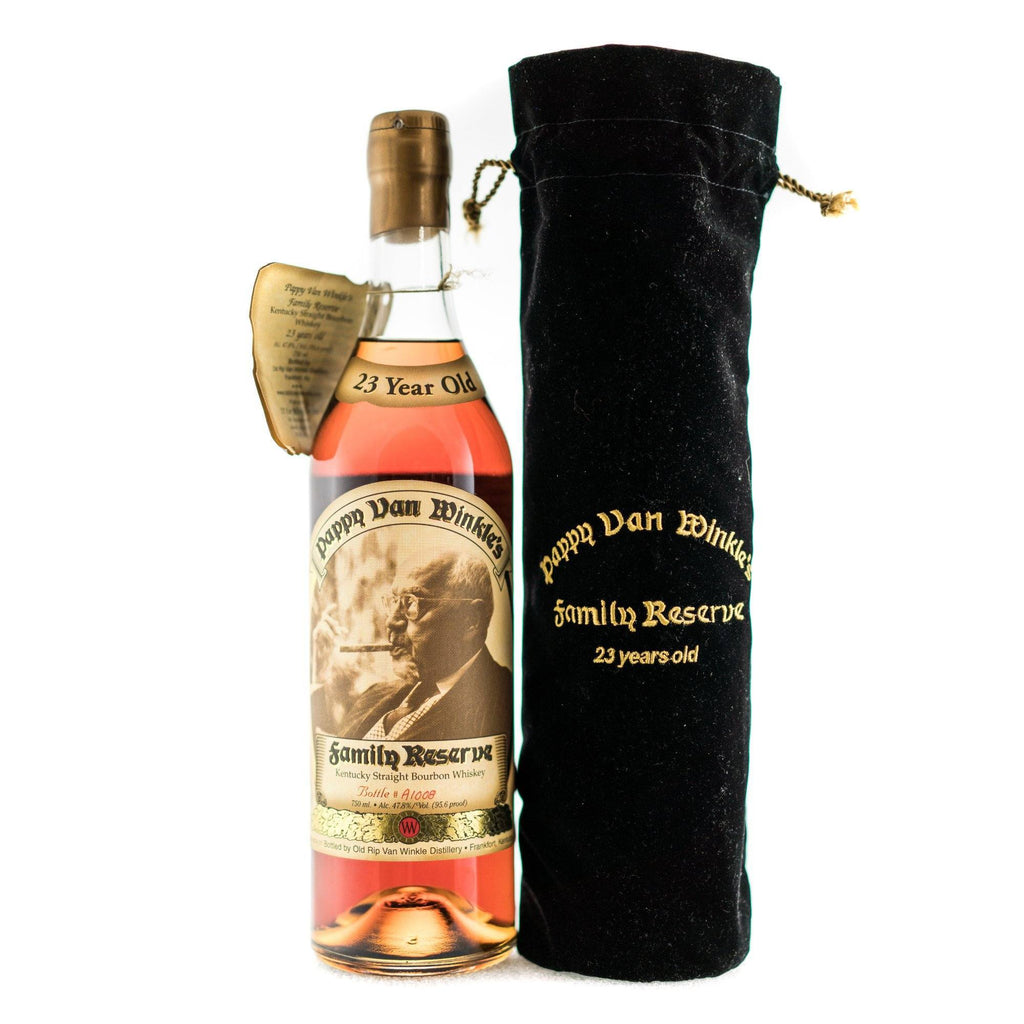 Pappy Van Winkle's Family Reserve 23 Year Old - 2005 Gold Wax Bourbon Pappy Van Winkle