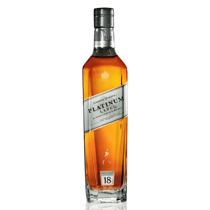 Johnnie Walker Platinum Label 18 Year Old Scotch Johnnie Walker