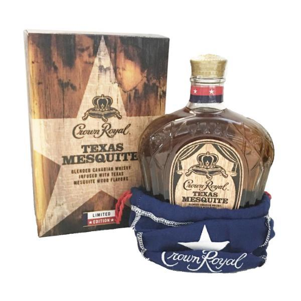 Crown Royal Texas Mesquite Canadian Whisky Crown Royal