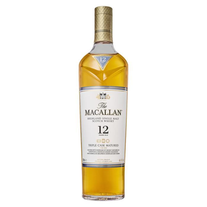 The Macallan Triple Cask Matured 12 Years Old Scotch The Macallan