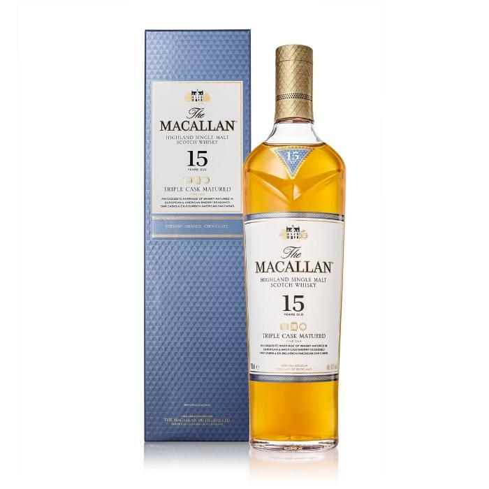 The Macallan Triple Cask Matured 15 Years Old Scotch The Macallan
