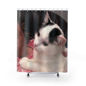"""Teddy Rone"" Shower Curtain"