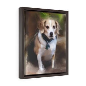 """BeeZee Helman"" Framed Gallery Wrap Canvas"