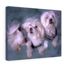 "Load image into Gallery viewer, ""Sammie & Lola"" Canvas Gallery Wrap"