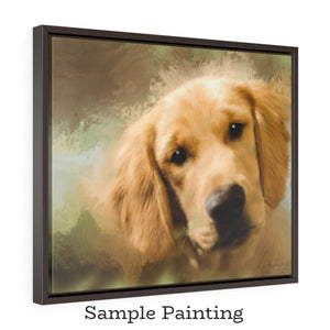 24x20 or 20x24 Framed Gallery Wrap