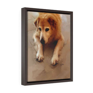 """Suzie Q"" Framed Premium Gallery Wrap Canvas"