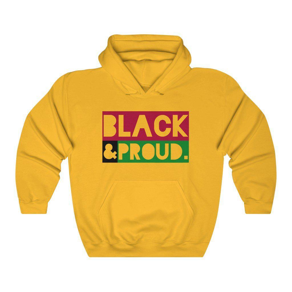 Black and Proud-Hoodie- Ébène Apparel