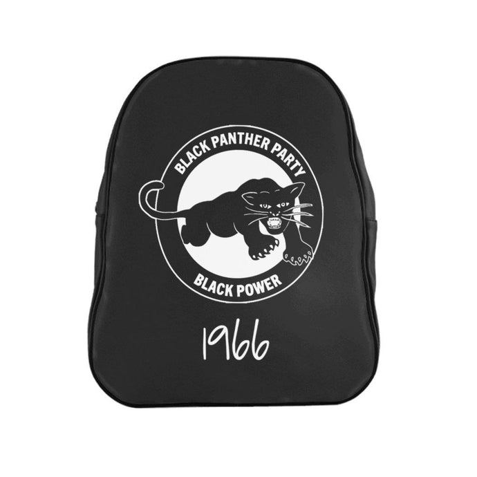 Black Panther Leather Backpack-Bags- Ébène Apparel