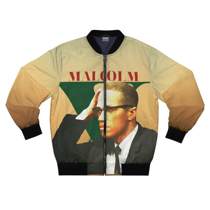 Malcolm X-All Over Prints- Ébène Apparel