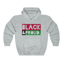 Load image into Gallery viewer, Black and Proud-Hoodie- Ébène Apparel
