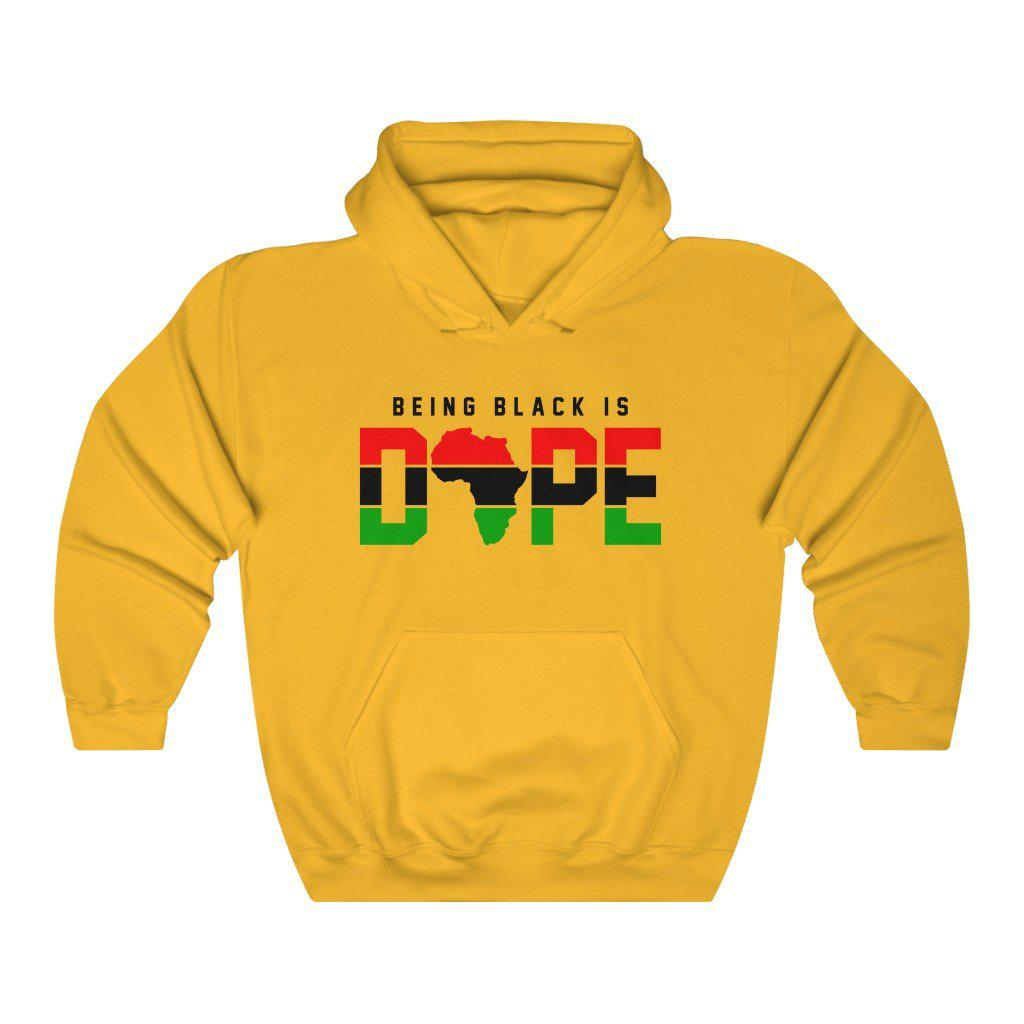 Being Black is Dope-Hoodie- Ébène Apparel