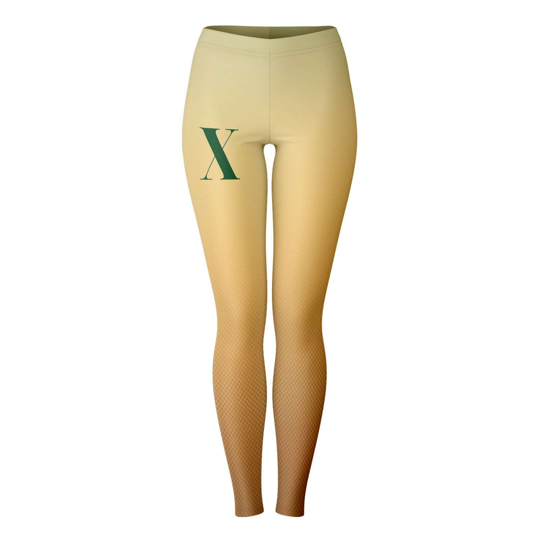 Malcolm X-Leggings - AOP- Ébène Apparel