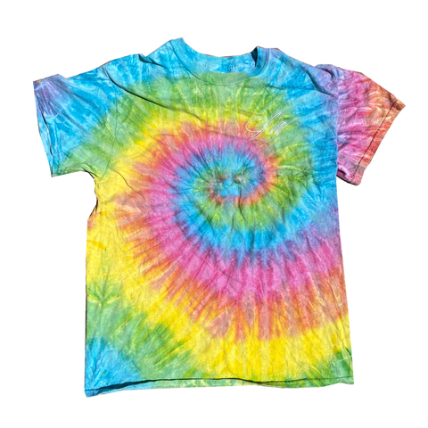 Classic Tie Dye Swirl Tee Multi-T-Shirt-Solus Supply