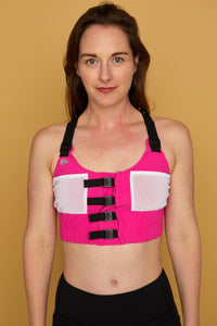 The Blackwell Bra — Patented Post-Surgical Bra with Drain Pockets