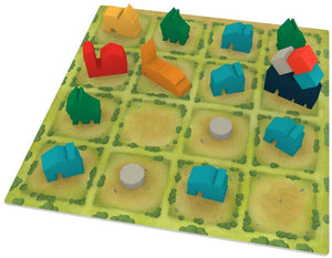 Tiny Towns Player Board