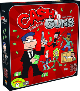 Cash 'n Guns 3D Box
