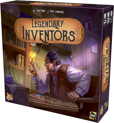 Board Game | Legendary Inventors | Game Night Gear