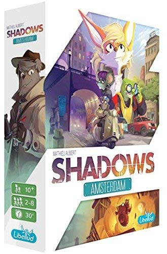 Board Game | Shadows: Amsterdam | Game Night Gear
