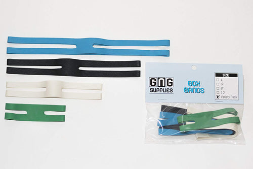 Box Bands | Box Bands Variety Pack (pack of 4) | Game Night Gear