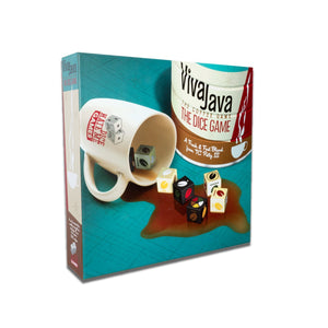 Board Game | VivaJava: The Coffee Game - The Dice Game | Game Night Gear